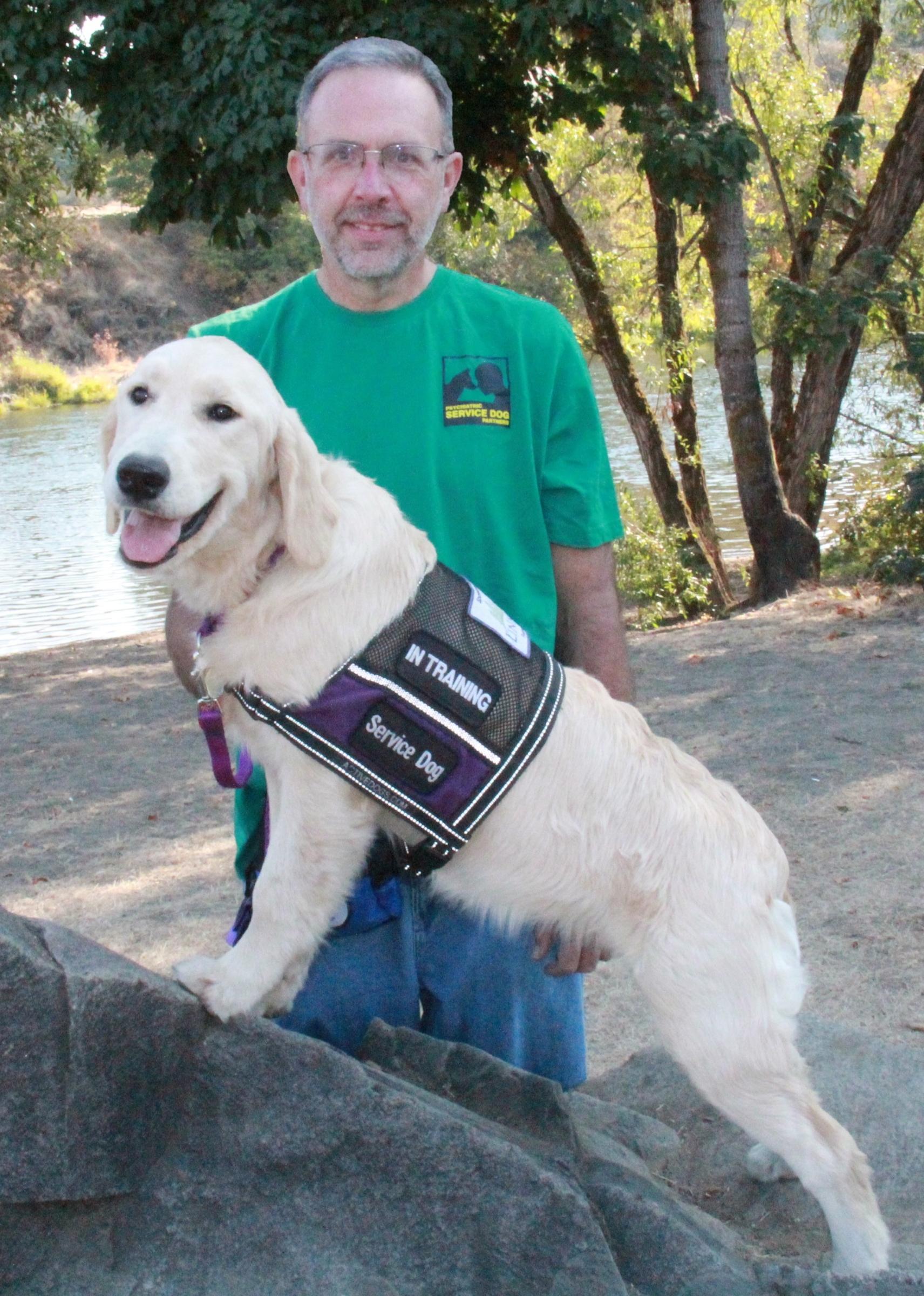 Steven Amp Kaeley Psychiatric Service Dog Partners