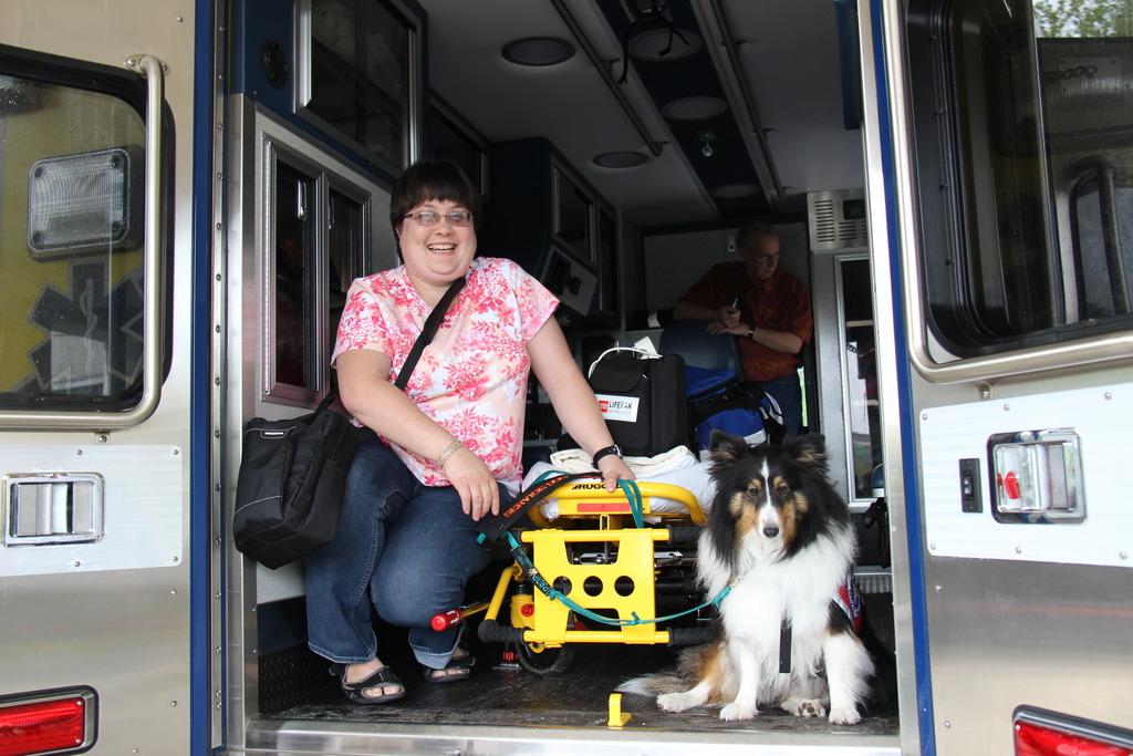 5 Ambulance Antics Psychiatric Service Dog Partners