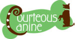 logo for Courteous Canine